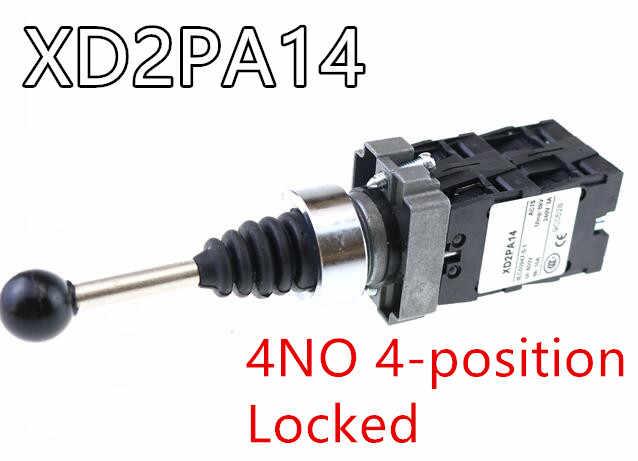 4NO 4 позиции крест кулисный переключатель XD2PA14 XD2PA24 координатный Рычаг/2NO 2 позиционный тумблер XD2PA12 XD2PA22