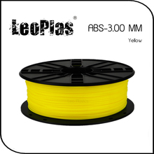 Worldwide Fast Delivery Direct Manufacturer 3D Printer Material 1 kg 2.2 lb 3mm Yellow ABS Filament
