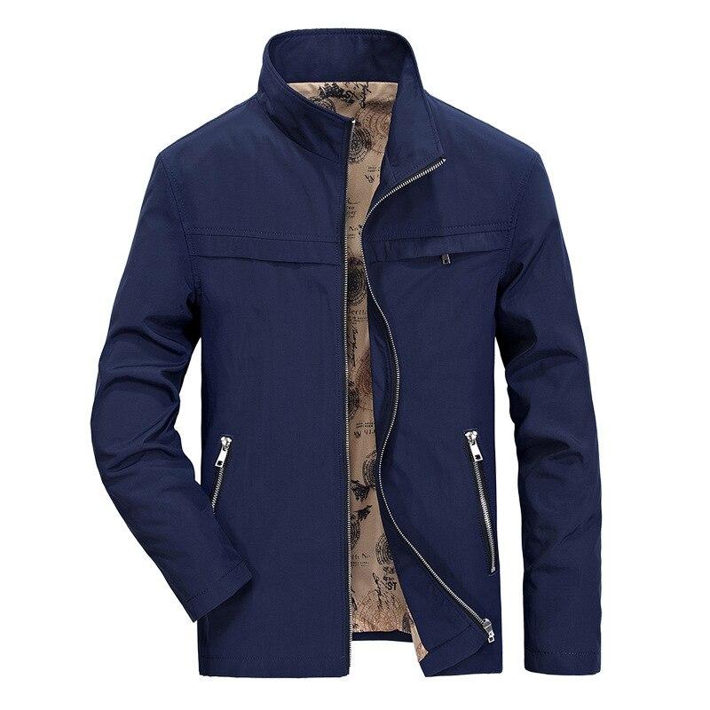 Bleu Pu Zhan Hommes Vestes 5xl Army Homme Di Printemps L Green Afs Manteau Manteaux Ji Outwear Jeep Automne Nouveau Marque Coton Poche kaki Veste marine CBxdore