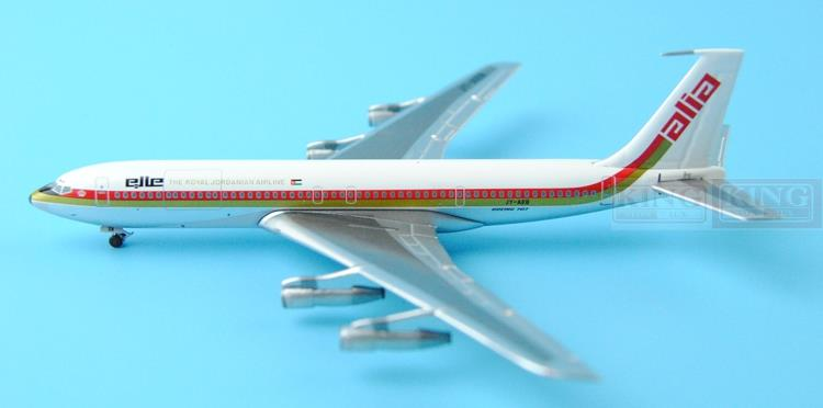 Aeroclassics Jordan Royal Air JY-AEB 1:400 B707 commercial jetliners plane model hobby special offer wings xx4232 jc korean air hl7630 1 400 b747 8i commercial jetliners plane model hobby