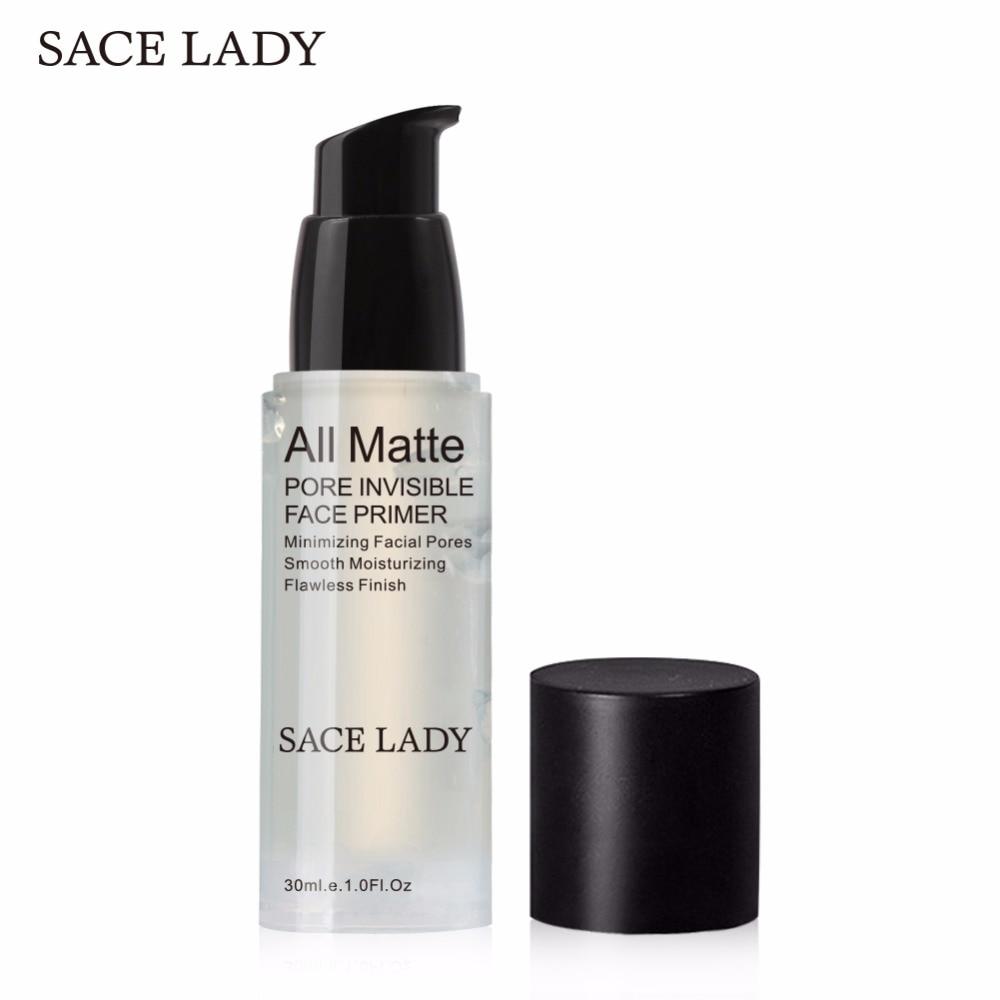 SACE LADY Foundation Primer Pore Invisible 30ml Face Base Make Up Oil-control Matte Natural Makeup Facial Gel Prolong Cosmetic