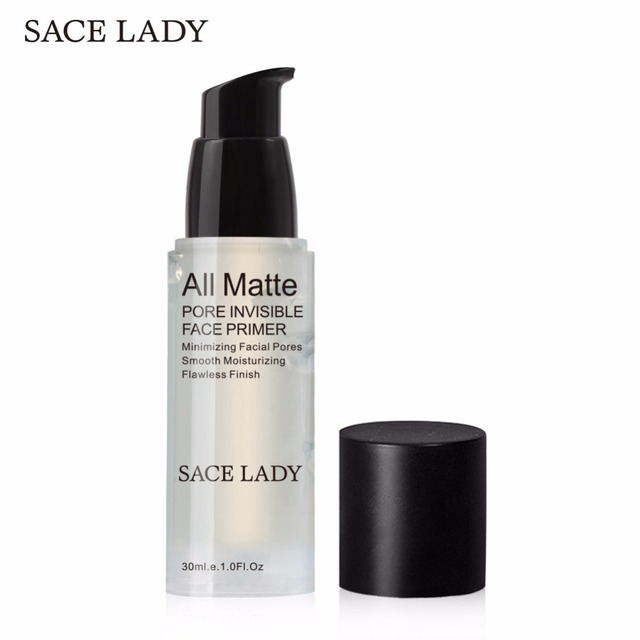 SACE LADY Foundation Primer Pore Invisible 30ml Face Base Make Up Oil-control Matte Natural Makeup Facial Gel Prolong Cosmetic