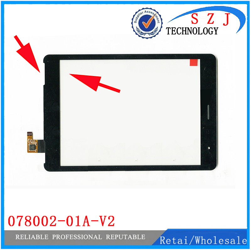 New 7.85'' inch TeXet NaviPad TM-7855 3G 078002-01a-v1 Touch screen panel Digitizer Glass Sensor Replacement Free Shipping new touch screen digitizer 7 texet tm 7096 x pad navi 7 3 3g tablet touch panel glass sensor replacement free shipping