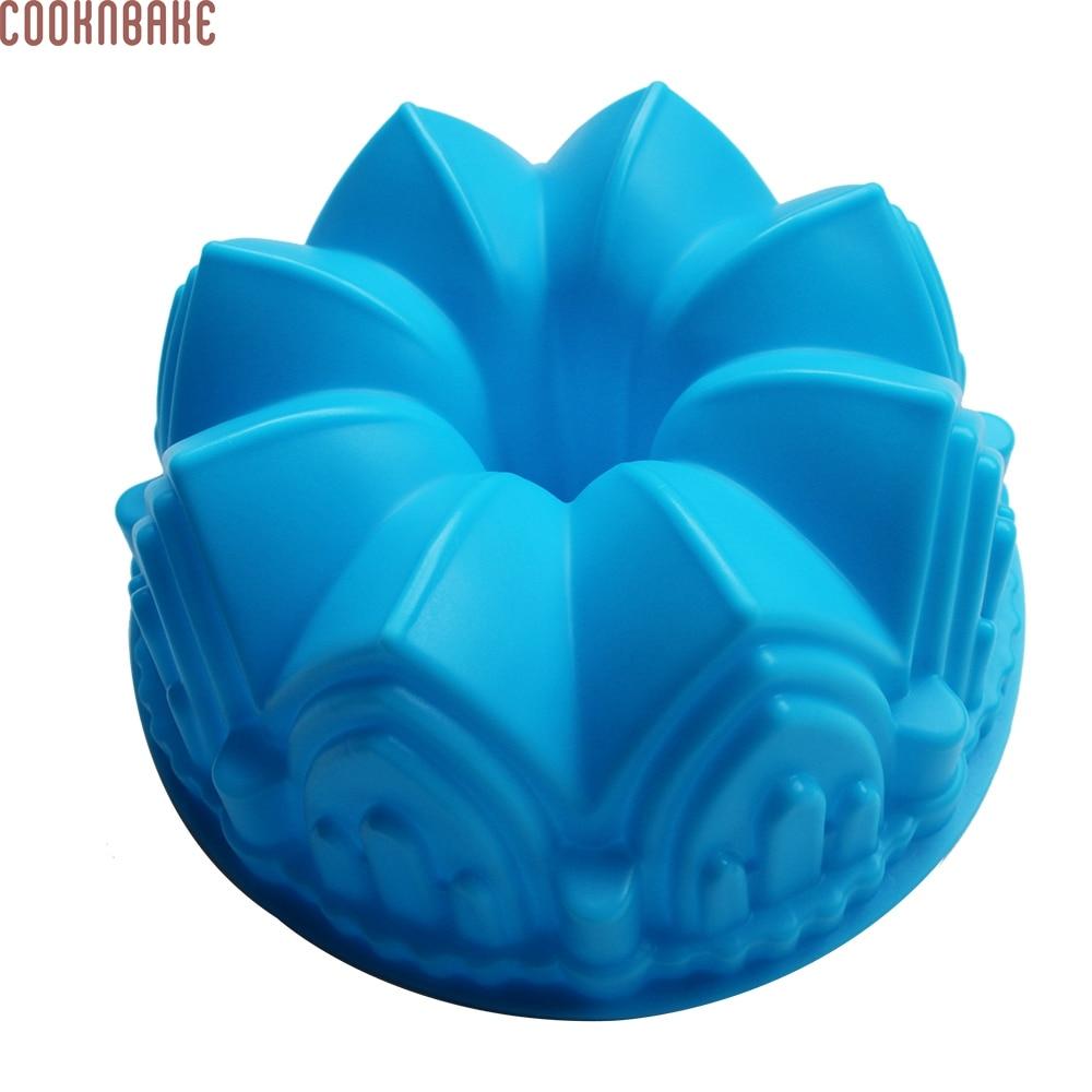 Origami Blume Silikonform Mousse Kuchenform Puddingform Schokoladenform Backform Möbel & Wohnen