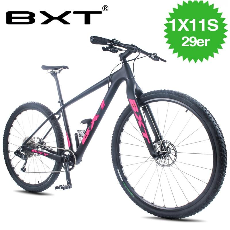 Vtt vélo 29 pouces carbone 11 vitesses double freins à disque vitesse variable vtt de course vélo vélo adulte vélo