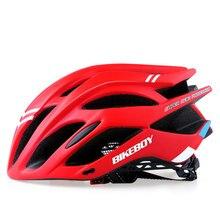 купить Ultralight Bicycle Helmet Integrally-molded Cycling Helmet DH MTB Road Bikes Helmet Casco Ciclismo Average Size is Adjustable онлайн