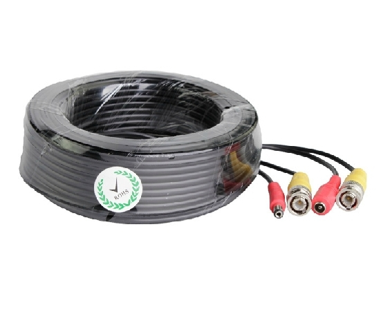 Security BNC 20M 65FT DC Power Cable For CCTV Security Camera dc bnc шнур 10м
