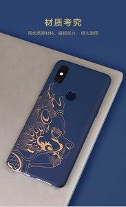 Image 5 - 원래 Xiaomi 미 믹스 3 케이스 (4g 버전) 고급 그림 하드 PC 커버 케이스 Xiaomi 미 MIX3 믹스 3 커버 울트라 슬림 Funda Coque