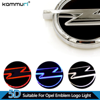 Car Styling 5D Rear Badge Logo Light For Opel LED Emblem Logo Light