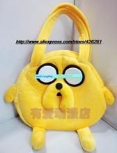 Adventure Time with Jake action figure toys Cosplay backpack Cute Cartoon Sun Hat For Children 30cm