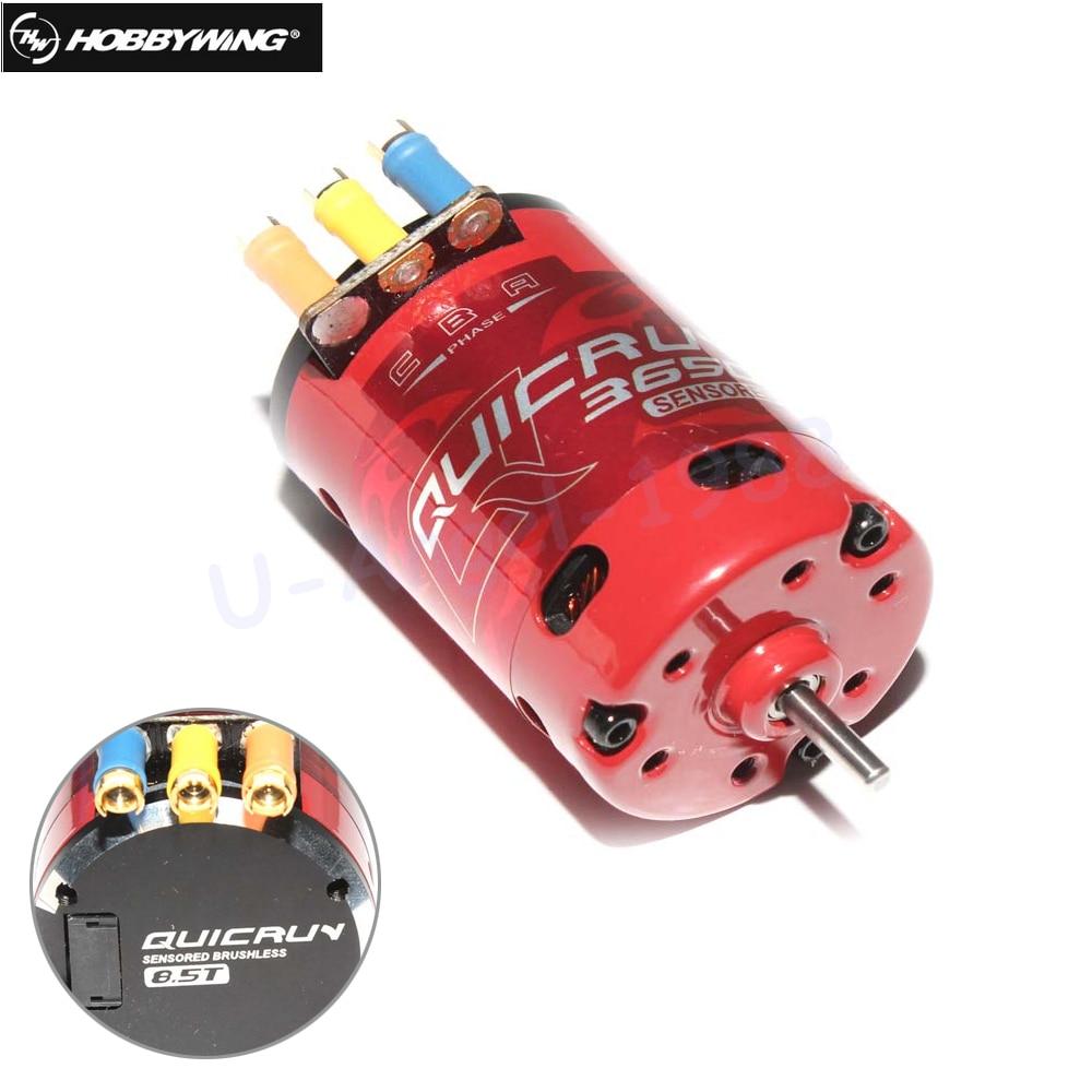 Hobbywing QUICRUN 3650 Sensored 5200KV 3500KV 3450KV 2760KV 2210KV 1760KV 2000KV 2-3S Race Brushless Motor For 1/10 Rc Car стоимость