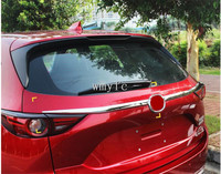 for 2017 2018 Mazda CX 5 CX5 KF refit rearguards trunk rear bumper tail box trim 2