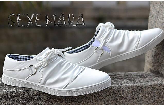 Nuevos Hombres calientes ocasionales Bajos Zapatos Respirables Cómodos Zapatos d