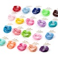 10pcs/lot Girls Scrunchies colors hair ring baby headwear Mini hair accessories for girls Elastic Hair Bands Kids Christmas Gift