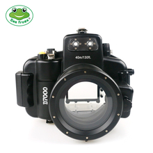 лучшая цена For Nikon D7000 18-55mm Case Professional Diving Videography Waterproof Camera Housing Underwater 40m Depth Impermeable Cover