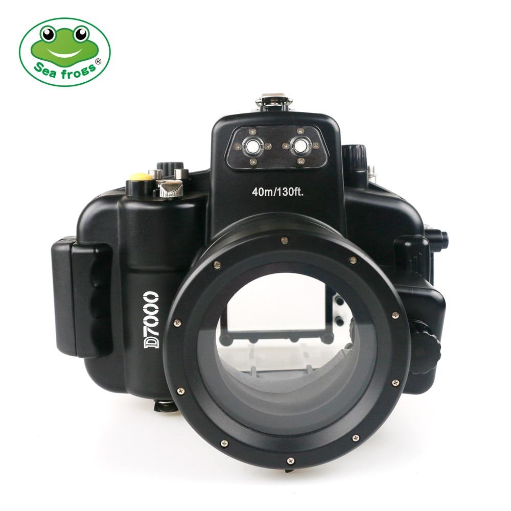 лучшая цена For Nikon D7000 Camera 18-55mm Waterproof Housing Diving Water 40m Impermeable Case Underwater Videography Essential Equipment