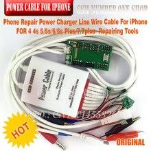 מטען חשמל תיקון טלפון קו חוט כבל עבור iPhone 4 4S 5/5S/6/6 s בתוספת/7/7 בתוספת תיקון כלים