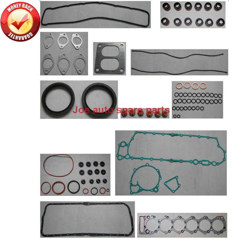 Auto Replacement Parts Fast Deliver 6sa1-tc 6sa1 6sa1t Engine Full Gasket Set Kit For Isuzu Bus Truck 8413cc 8.4l 187810-4012 187810-4010 Gr820 50201400 1878104012