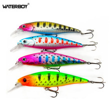 HAOS 9.5m 13.8g Fishing Minnow Bait Plastic Hard Wobblers Artificial Fish Lure OEM ODM Manufacture tricases factory oem odm pp plastic ip67 waterproof shockproof dustproof case for electronic device