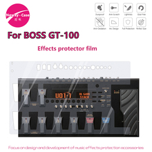 Neway   กรณีไฟฟ้ากีตาร์หลายผลป้องกันฟิล์มสำหรับ BOSS GT 100 กีตาร์ Pedal อุปกรณ์เสริม