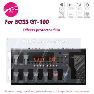 Image 1 - Neway Case Electric Guitar Multi Effect Protector Film for BOSS GT 100 Guitar Pedal Effects Accessories