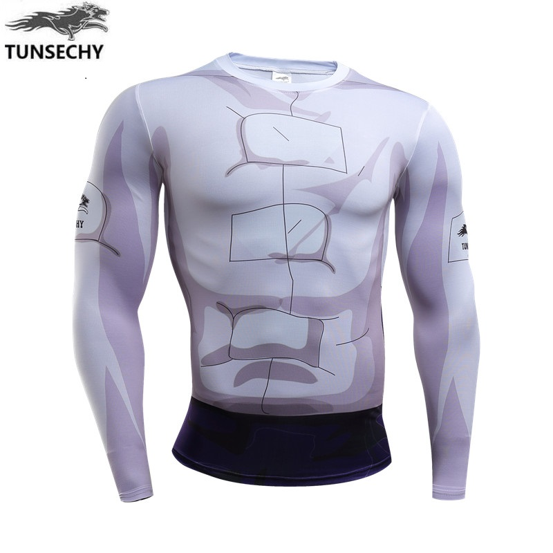 2017 TUNSECHY Naruto Flag wood kakashi nara deer pill Sasuke compression tight T-shirts wholesale and retail free shipping
