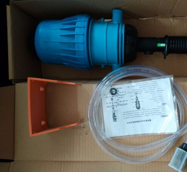 US $73 0 |Water Powered Dosing Pump Mix Chemical Injector Proportioning  Dispenser Liquid Doser for livestock Fertilizer washing mixer -in Power  Tool