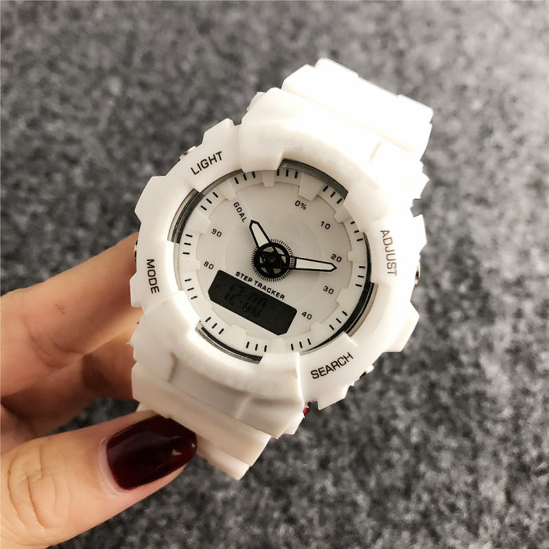 Watches Co-Logo Fashionable Women And Brand Sport Sporty-Decorative Electronic High-Grade