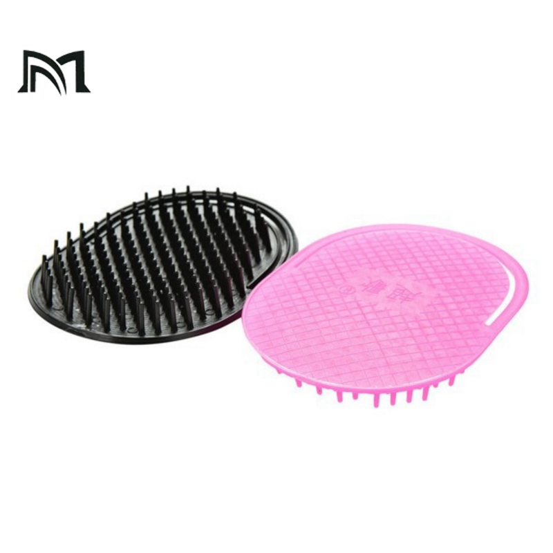 Dropping Shipping Adult  9.8*7.8 cm Abody hair brush Massage comb Portable hairbrush 2 color hairdressing special tool A7