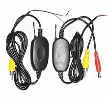 Wireless Parcheggio Auto B ackup RCA Video 2.4 Ghz trasmettitore Ricevitore kit per Auto Senza Fili Telecamera Posteriore Retromarcia Monitor Dell'automobile DVD GPS