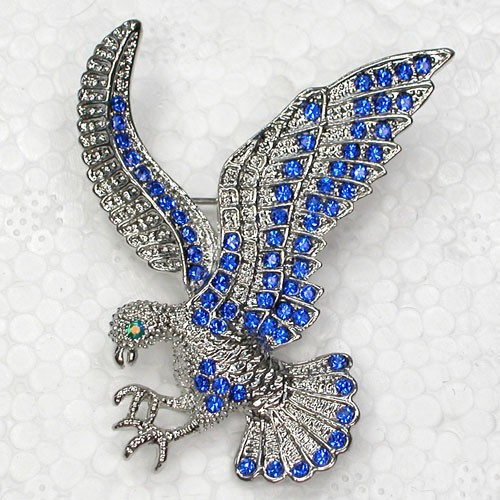 Rhinestone Eagle Pin brooches C367 B ...