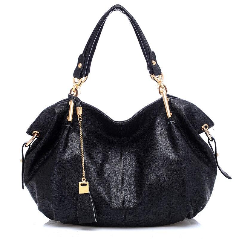 Новинка 2018 года Высокое качество кожа для женщин сумки дамы кошелек Bolsa Feminina большой плеча Crossbody Tote Сумка