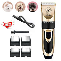 Professional Pet Cat Dog Hair Clipper Trimmer Cordless Rechargeable