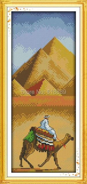 Пирамиды вышивка крестом