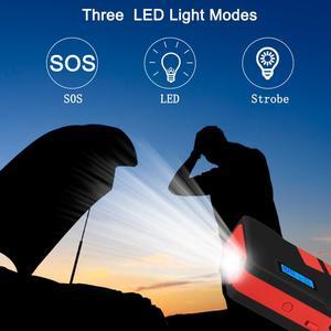 Image 5 - 20000mAh urządzenie do uruchamiania awaryjnego samochodu 1500A akumulator awaryjny pojazdu Auto buster kable rozruchowe Booster Starter urządzenie zapłonowe Power Bank