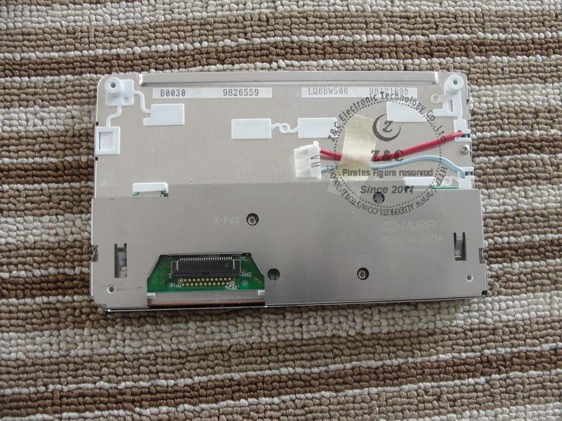 """LQ6BW506 5,"""" дюймовый ЖК-экран дисплей панель для автомобиля gps DVD аудио навигационная система"""