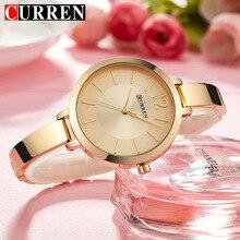CURREN, новинка, креативный дизайн, кварцевые часы для женщин, повседневные, модные, стильные, подарок для девушек, наручные часы, винтажные часы, relogio feminino