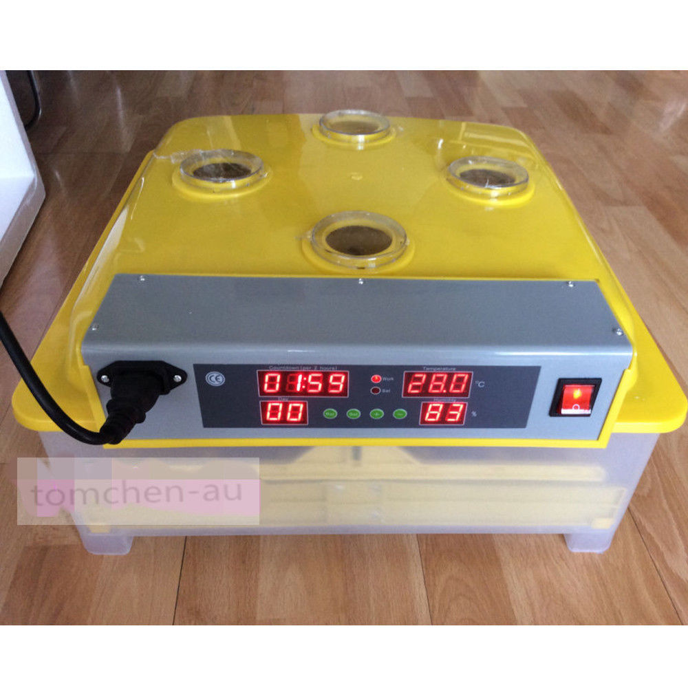 DE warehouse cheap Chicken Egg Incubator 48 eggs automatic equipment Hatching machines small chicken poultry hatchery machines 48 automatic egg incubator 220v hatching for sale