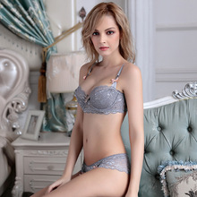 Lace thin cotton cup comfortable breathable bra embroidery ultra-thin underwear