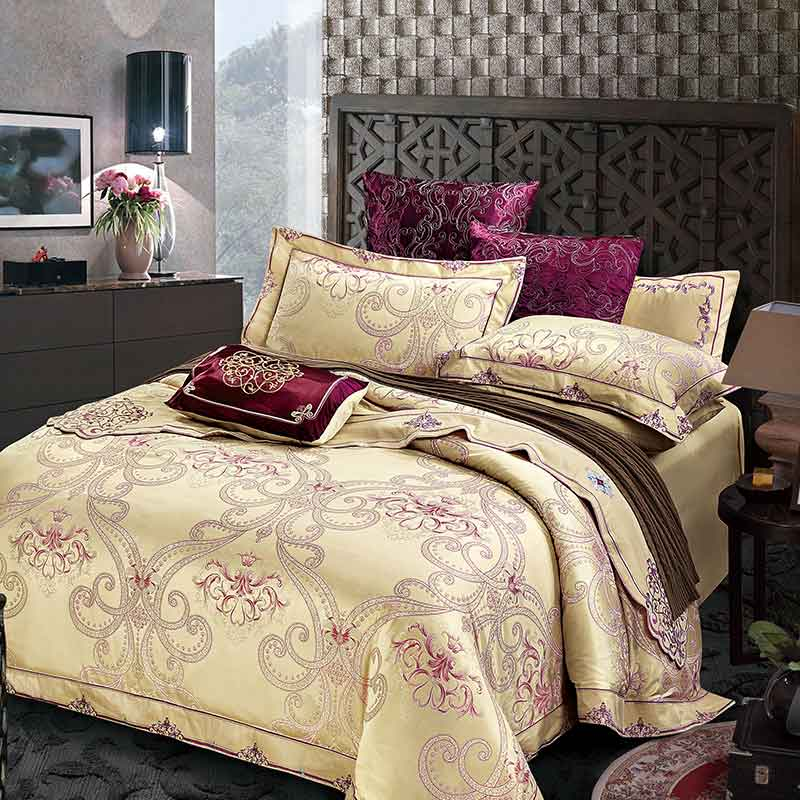 Brand Silk Place Bedding Set Satin Luxury Bedding Sets