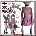 Vocaloid Cosplay Costume camellia Gumi dress Evening dress+glove+hat big size free shipping