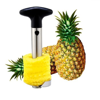 Creative Kitchen Accessories Stainless Steel Pineapple Peeler Pineapple Slicers Fruit Knife Cutter