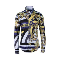 2017 New Arrival Men Dress Shirt Long Sleeve Luxury Shirt Male Fashion Shirts High Quality Camisa
