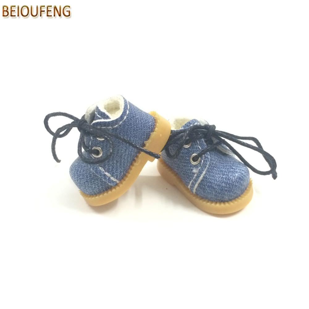 BEIOUFENG Sneakers Shoes for Dolls 3.8cm Mini Toy Boots para Blythe - Muñecas y peluches - foto 5