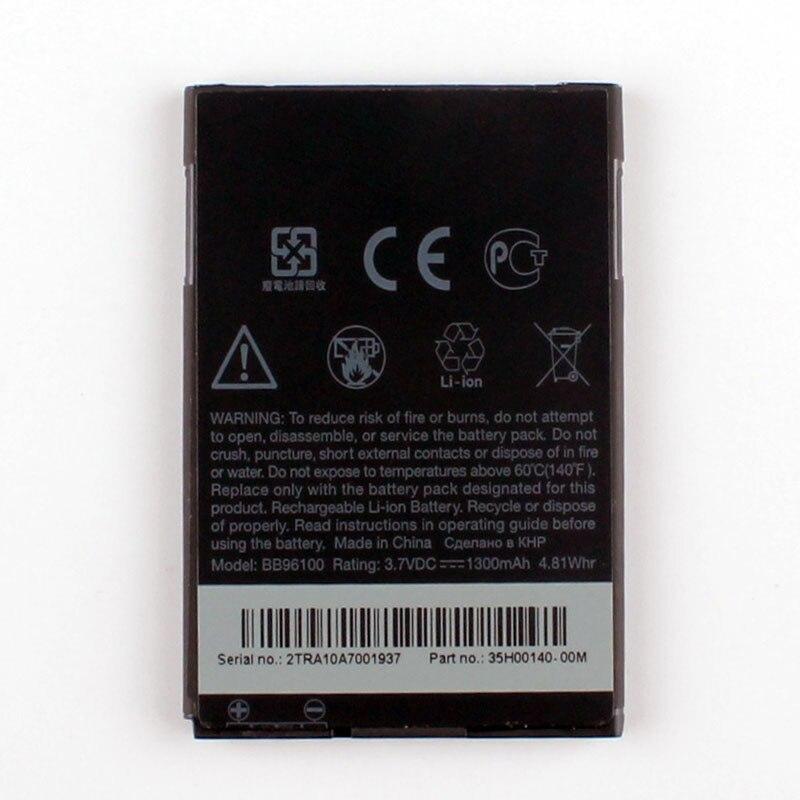 Haute Capacité Téléphone Batterie Pour HTC A7272 Desire Z BB96100 1300 mAh