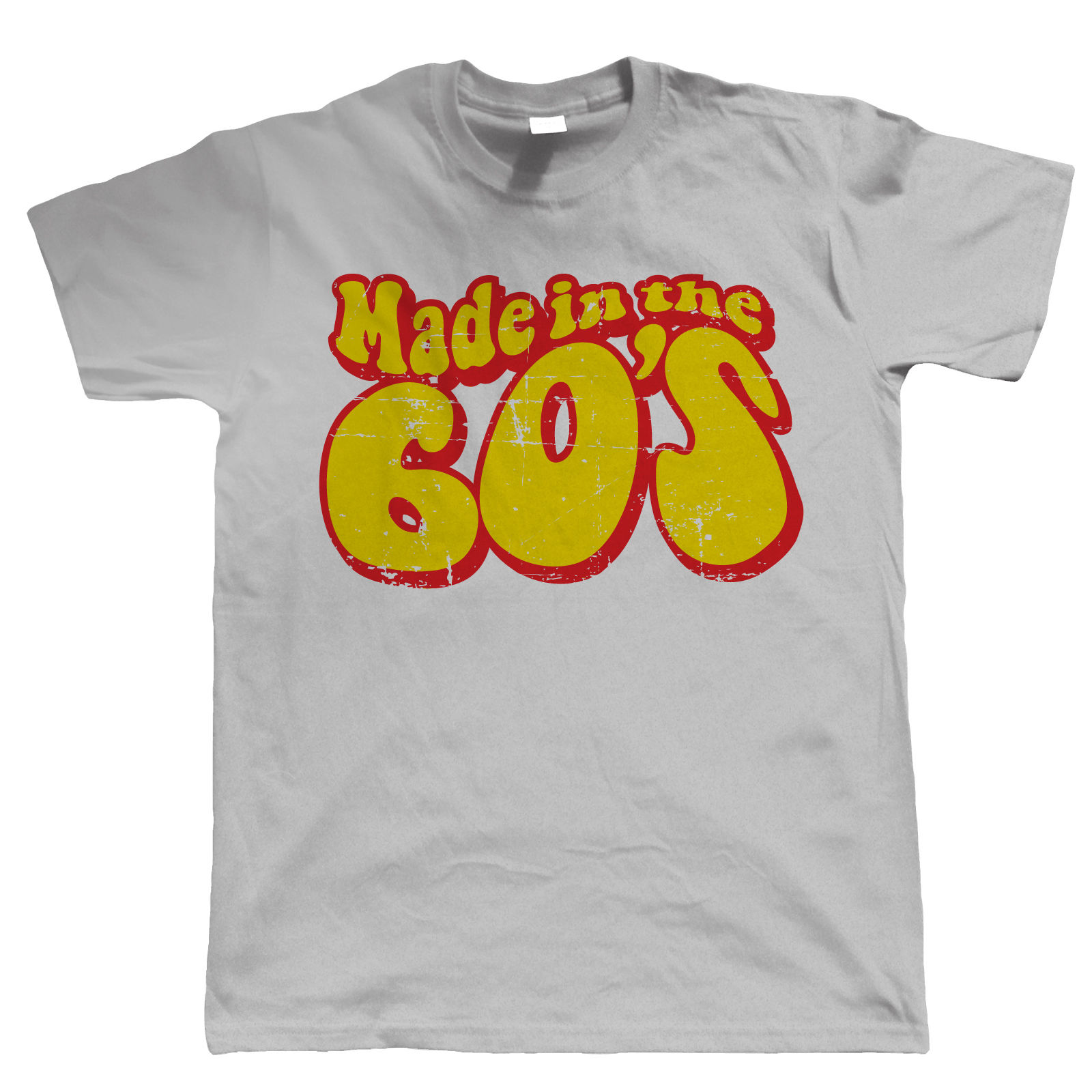 Made In The 60s Mens Funny 50th Birthday TShirt New TShirts Tops Tee Unisex Print Tees Short Sleeve O Neck T Shirts From