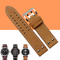 AUTO Calf Genuine Leather Watch Band For Hamilton KHAKI FIELD Man Watch H70595593 H70655733 22mm Watch Strap Watchband+Free Tool