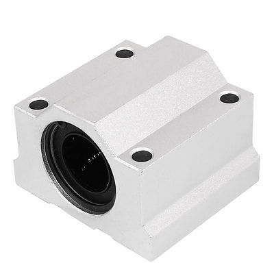 SCS25UU 25mm Inner Dia Linear Motion Ball Bearing Slide Unit Bushing scv50uu 50 mm linear motion ball bearing slide unit bushing