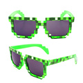 Minecraft Sunglasses Deal with it 8 bit Pixel Women Men Glasses Female Male Mosaic Sun Glasses Fashion Vintage