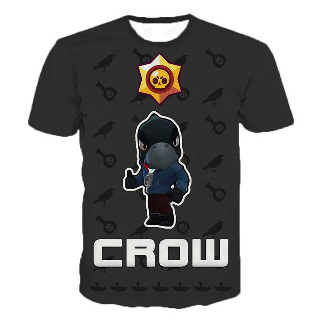 ab419cfd44 New Arrival Game Brawl Stars 3D Printed T Shirts Summer Tops Men Women  Short Sleeve Fashion Casual Personaity T Shirts 2XS-5XL